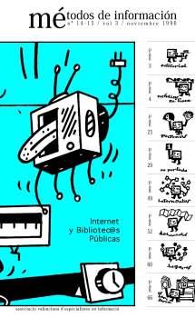 Métodos de información - Portada 14-15